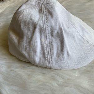 White Men's Flat Hat